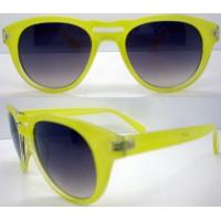 Quality Candy Color Cool Plastic Frame Sunglasses With 400UV Protection wholesale
