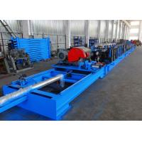 Quality Self Seamed Step Rack Roll Forming Machine With Flying Saw Cutoff wholesale