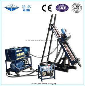 Quality MD-30 Rock Anchor Drilling Rig Hydraulic / Drill Machine Depth 30m-50m wholesale