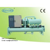 Quality Low Temperature Commercial Chiller Units Screw-type Water Cooled For Commercial Fan Coil With CE Certificate wholesale