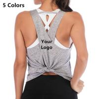 China Popular Product women's yoga tank tops With Strength store on sale