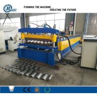 Quality Sheet Metal Roofing High Rib Corrugated Roll Forming Machine For Wall Cladding wholesale