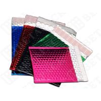 Green / Black CD / DVD Metallic Bubble Mailer Envelopes Tolerance ±0.2''