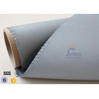 Quality 1050gsm silicone coated fiberglass cloth For Railway Engine Sparks Protection wholesale