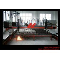 Quality Multi Function 9 + 2 Practical Flame CNC Cutting Machine Single Drive For Aluminum / Carbon Steel wholesale