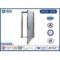 Quality High Strength FD90 Fire Doors With Steel Frame Strong Temperature Resistant wholesale