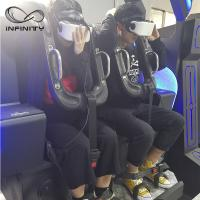 Quality Black / Blue VR Motion Simulator Game Machine Two Seats  VIULUX V8 Glasses wholesale