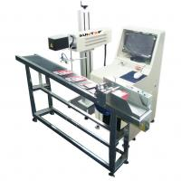 Quality 30W CO2 Laser Marking Machine for Production Date Marking , Industrial Laser Engraver wholesale