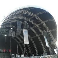 China 300x300mm bolt / stage  / strong capacity aluminum stage box truss and display truss on sale