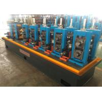 Quality High Speed ERW Pipe Mill Machine , Stainless Tube Mills One Year Quality Guarantee wholesale