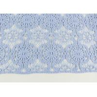 Quality Guipure Dying Lace Fabric With Floral Water Soluble Lace Design For Dress Factory wholesale