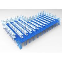 China Steel Platform Mezzanine Racking System Powder Coated / Galvanized Finish 3D design on sale