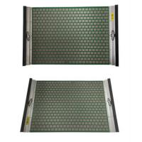 Quality Mud Drilling Vibrator Shale Shaker Screen Flat Panel Screen for Solid Liquid Separation wholesale