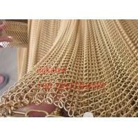 Quality Decorative metal mesh curtain / Chain link fence / Decorative wire mesh for room wholesale