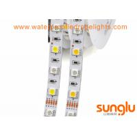 Quality 5050 60D Dimmable LED Rope Light Non-Waterproof RGBWW 12v LED Light Strips Flexible wholesale