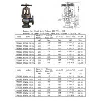 China Marine Cast Steel Angle Valve JIS F7314/7474 on sale