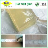 Quality Removable Hot Melt Spot Polyester Hot Melt Glue Pellets Transparent Glue Block wholesale