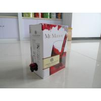 China Plastic Wine Bag In Box Food Packaging Bags / BIB Spout Pouch on sale