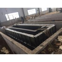 Quality Structure Pipes Hot Dip Galvanizing Equipment With Low Carbon Steel / Customized Size wholesale