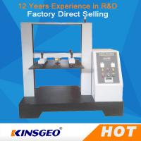 Quality 5T Computer Container Carton Compression Pressure Testing Equipment 1/250000 Resolution wholesale