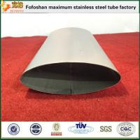 Quality 316 Stainless Steel Oval Tubes Stainless Steel special Shaped Tube Fabricators wholesale
