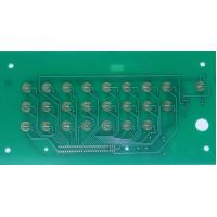 Buy cheap Good quality PCB Membrane Touch Switch Panel, with metal dome embossed product