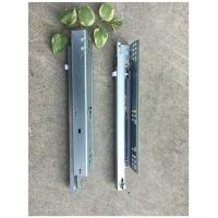 Quality Single Extension Undermount Soft Close Drawer Slides , Kitchen Drawer Hardware Slides Durable wholesale