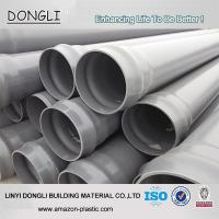 China PVC water pipe ISO Standard 315mm PVC PIPE for Water supply on sale