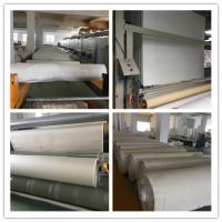 China High temperature 750gsm woven fiberglass filter cloth with ptfe membrane for cement plant dust filtration on sale