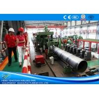 China Erw Pipes 304 Stainless Steel Pipe Welding Machine / Welded Tube Mill on sale