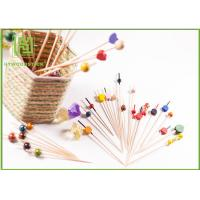 Quality Food Grade Baby Shower Toothpicks Decorative Skewers For Food Odorless wholesale