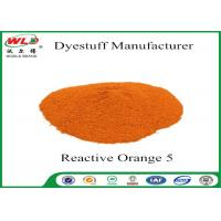 Quality Non Toxic Dye For Fabric Powder Tie Dye Reactive Orange 5 Eco Friendly wholesale