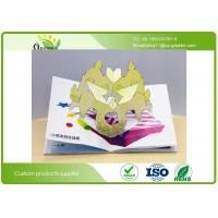 Quality Full Color Printing Cardboard Kids Snappy Pop Up Books With Different Styles And Size wholesale