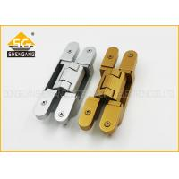 Quality 180 Degree 3d Adjustable Invisible Door German Hinges Of GB Zinc Alloy wholesale