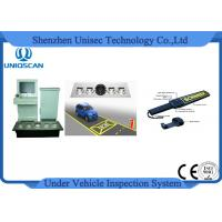 Quality Safety Anti Terrorism Colorful Vehicle Surveillance System , Under Vehicle Scanning System wholesale