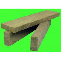 China Fire Resistanct Rock Wool Insulation Board / Panels Internal or External Wall Decor on sale