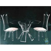 Cheap acrylic bar table and chairs for sale