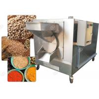 Cheap Drum Sesame Seed Nuts Roasting Machine Dry Cereal Grain Roaster 3000*1200*1700 Mm for sale