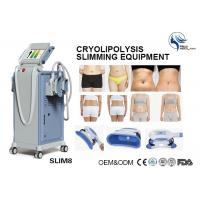 Quality Professional 4 Hand Pieces Cryolipolysis Fat Freezing Machine For Double Chin Removal wholesale
