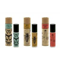 China Recycled Luxury Round Cardboard Tubes Eco Friendly For Makeup Brush Packaging on sale
