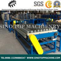 Solid cardboard corner guard production line China/India