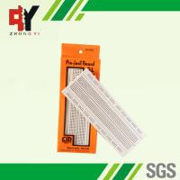 Quality Socket White Electronics Breadboard Power Line Spring Clip Finishing wholesale