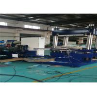 Buy cheap Industrial Horizontal Rubber Injection Molding Machine Plate Size 700x700mm from wholesalers