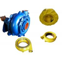 Quality High Chrome Alloy Sand Dredging Pump , Sand Removal Pump One Stage Structure wholesale