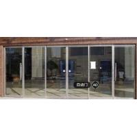 China Below 60db Induction Auto Sliding Door Automatic Sliding Glass Doors With Sensor on sale