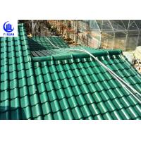 Buy cheap Upv Asa Coated Colonial Times Synthetic Spanish Roof Tiles / Plastic Tile Roof from wholesalers