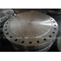 Quality P355QH EN10273 Carbon Steel Forged Disc  Pressure Vessel Blank Flange wholesale