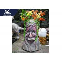 Cheap High Simulation Decorative Statue Speech Tree With Colorful Branches for sale