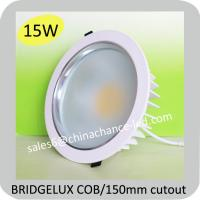 China 15w warm white bathroom cob led downlight uk with driver on sale