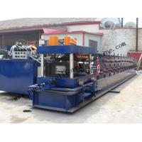 Quality Hydraulic PLC Control Purlin Roll Forming Machine , Z Purlin Making Machine wholesale